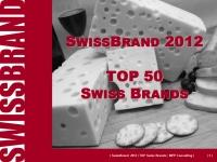 SwissBrand 2012